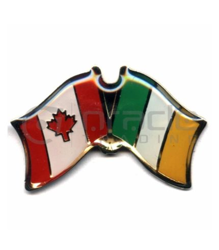 Ireland / Canada Friendship Lapel Pin