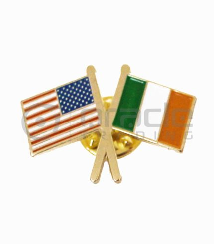 Ireland / USA Friendship Lapel Pin