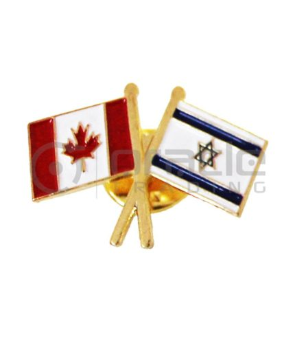 Israel / Canada Friendship Lapel Pin