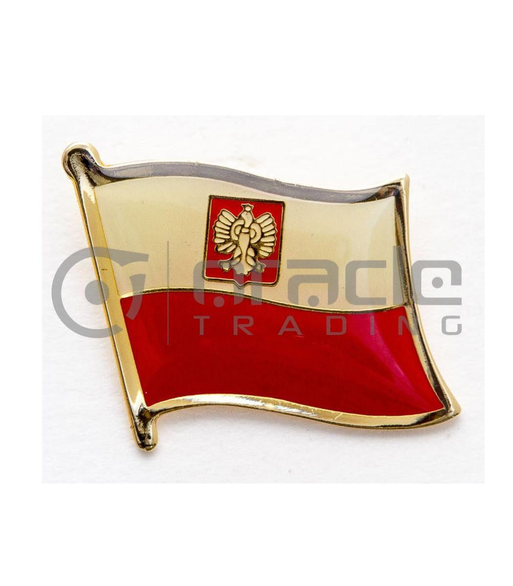 Poland Lapel Pin