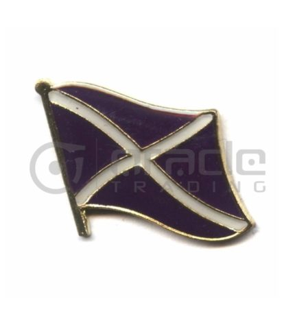Scotland Lapel Pin - St. Andrew's Cross