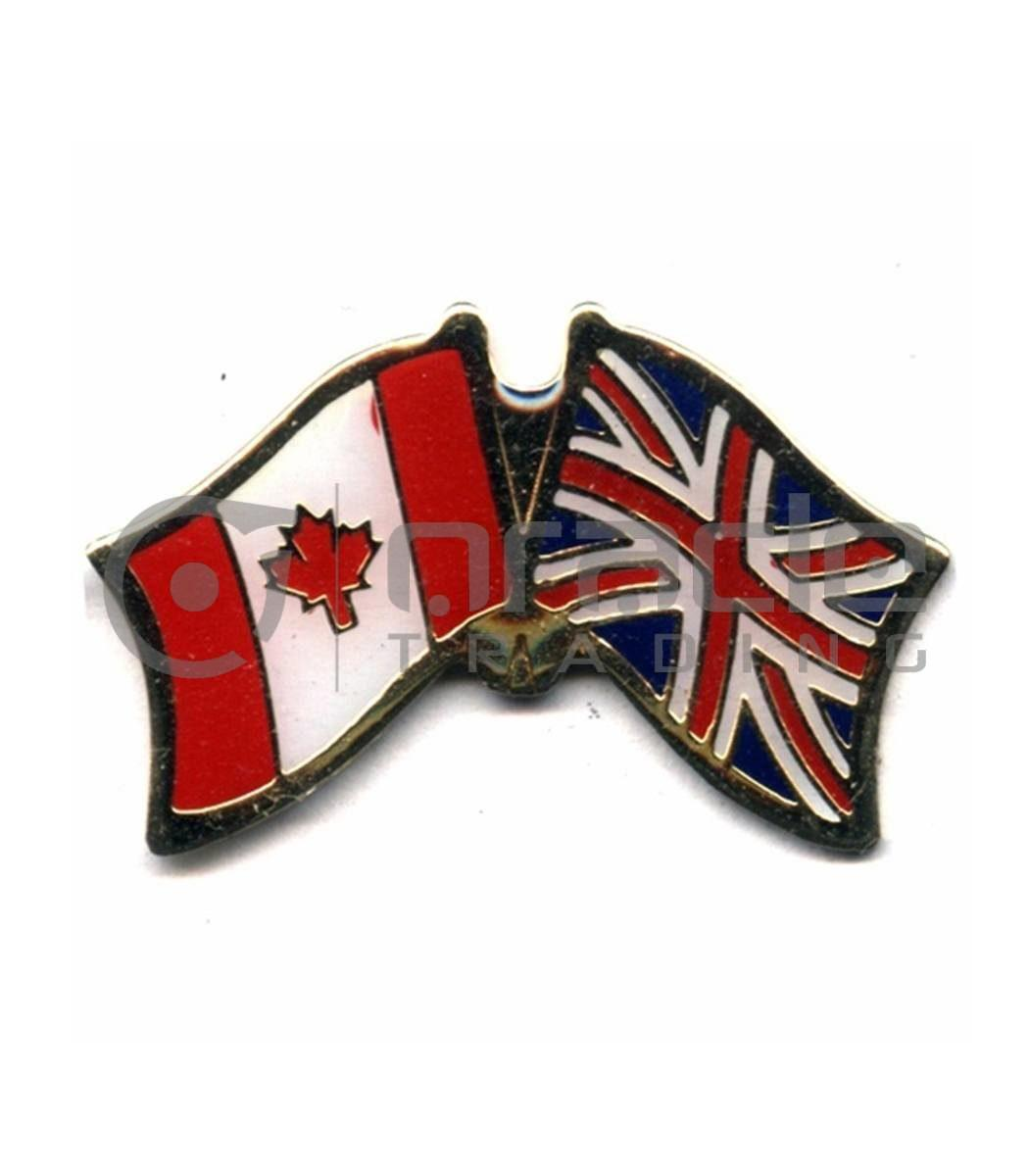 UK / Canada Friendship Lapel Pin (United Kingdom)