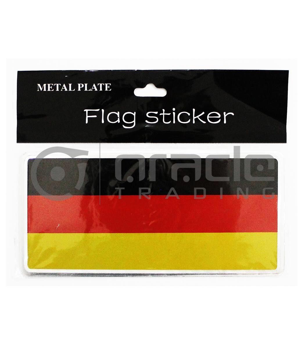Germany Plate Sticker