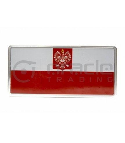 Poland Plate Sticker