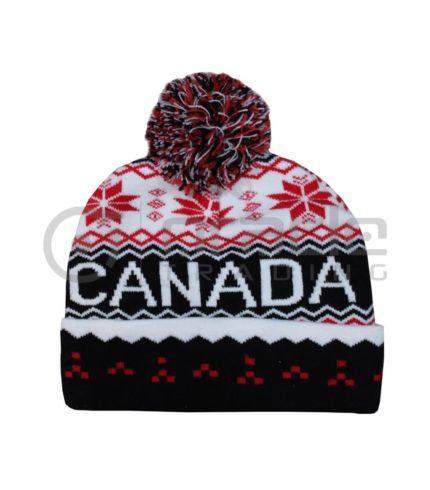Canada Pom Beanie