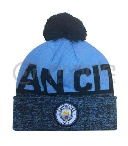 Manchester City Pom Beanie