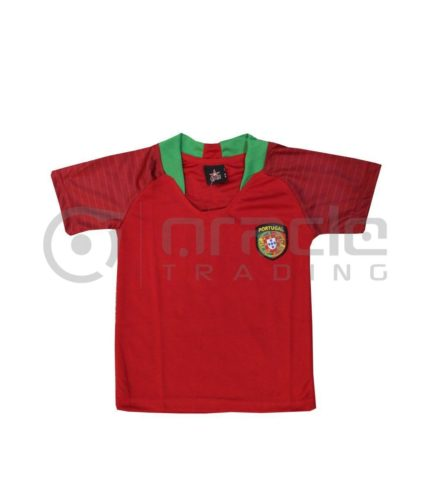 Portugal Jersey - Kids