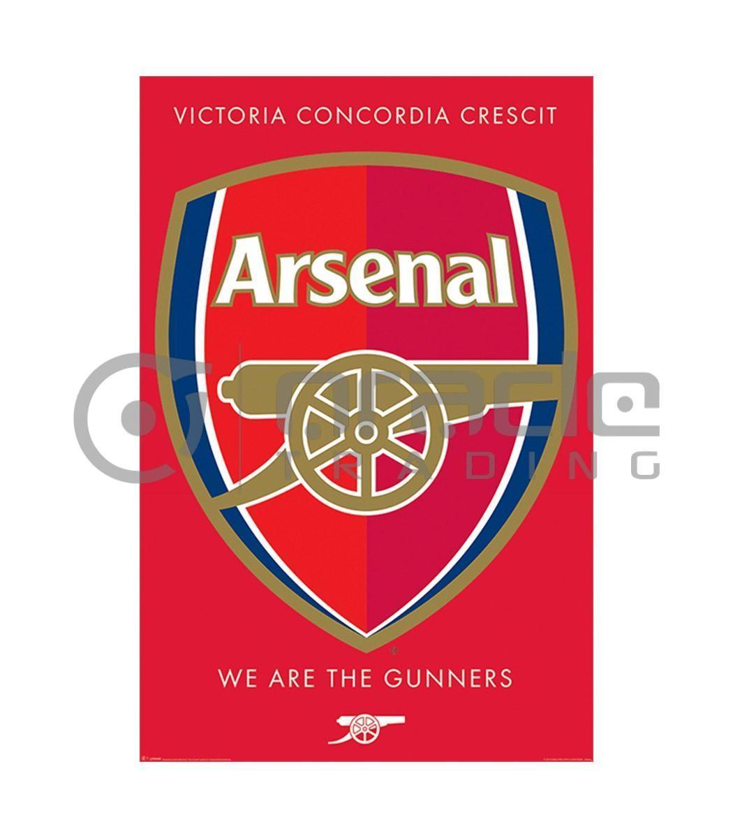 Arsenal Poster - Crest