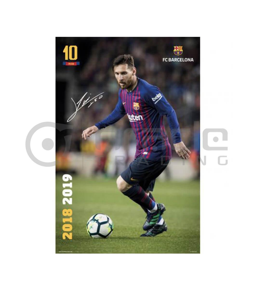 Barcelona Poster - Messi