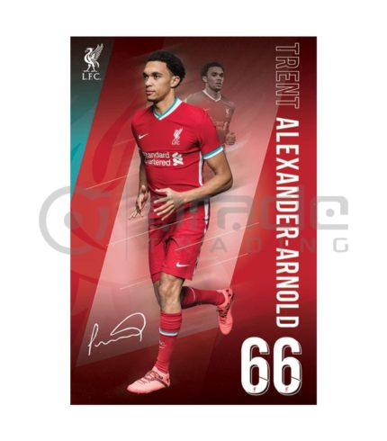 Liverpool Poster - Alexander-Arnold (2021)