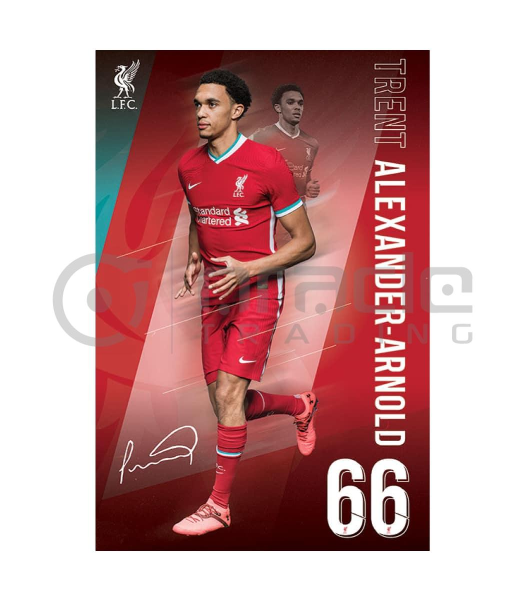 Liverpool Poster - Alexander-Arnold (2021)
