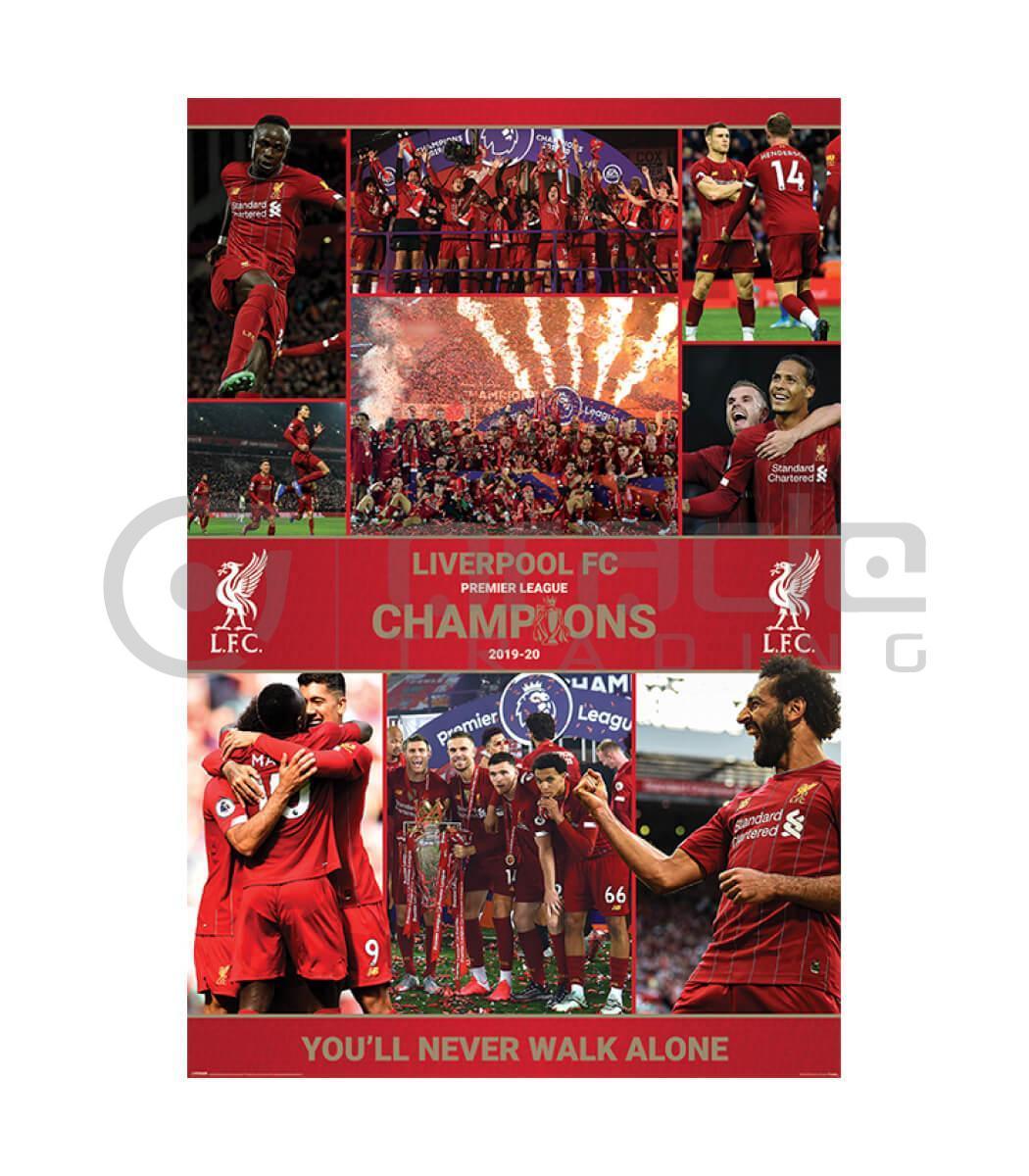 Liverpool Poster - Winning Season
