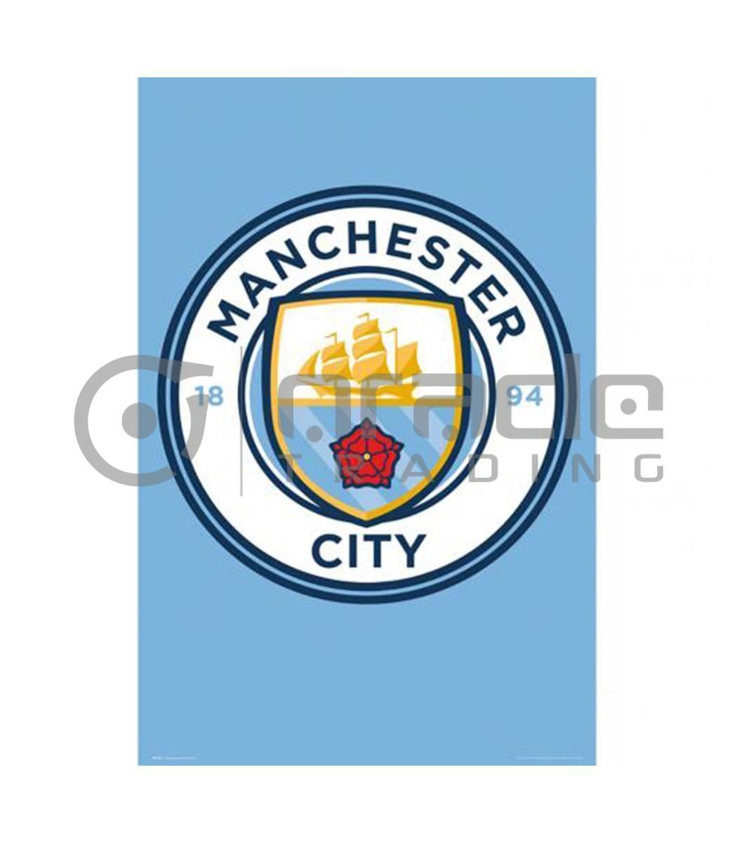 Manchester City Poster - Crest