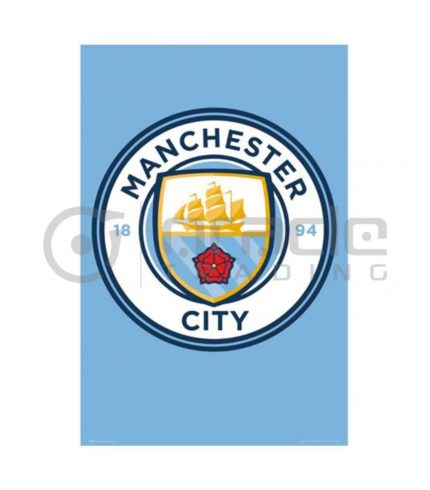 Manchester City Poster - Crest