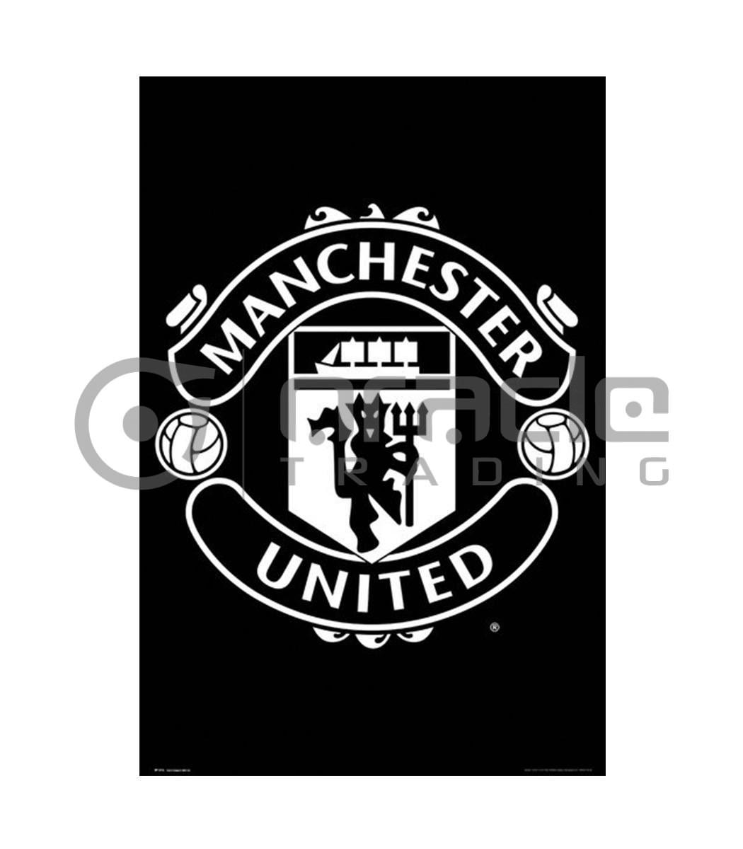 Manchester United Poster - Crest
