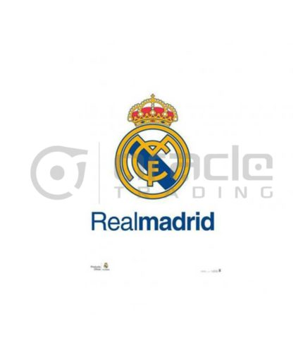 Real Madrid Poster - Crest