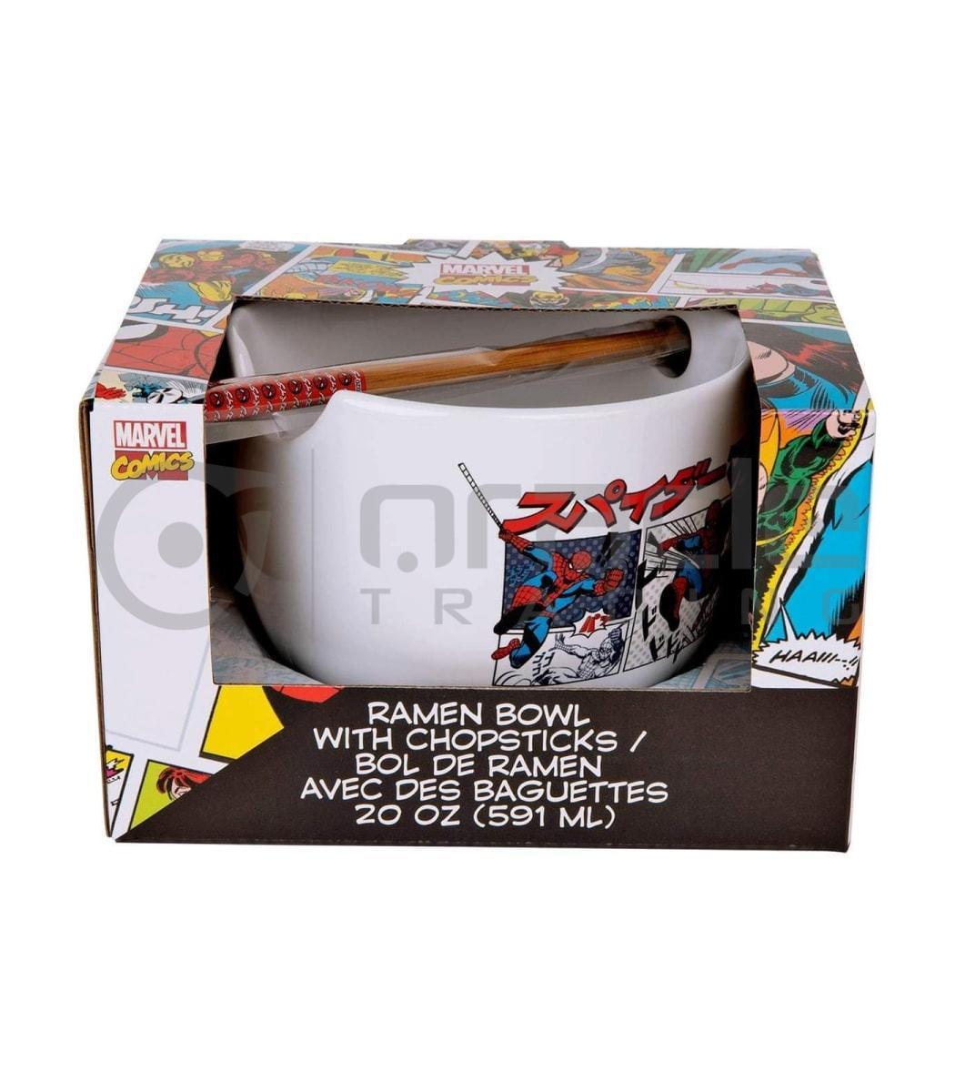 Spiderman Ramen Bowl & Chopsticks