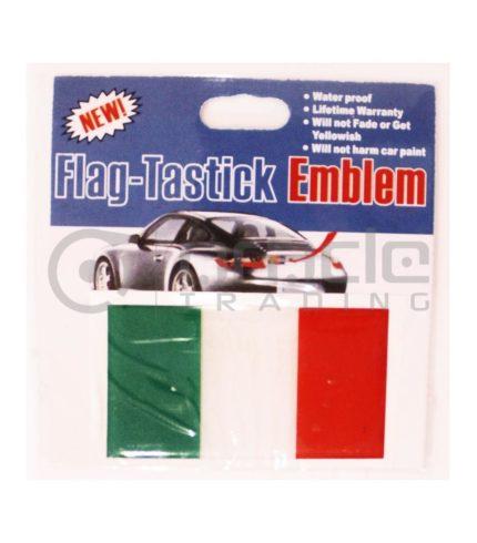 Italia Rubber Car Decal
