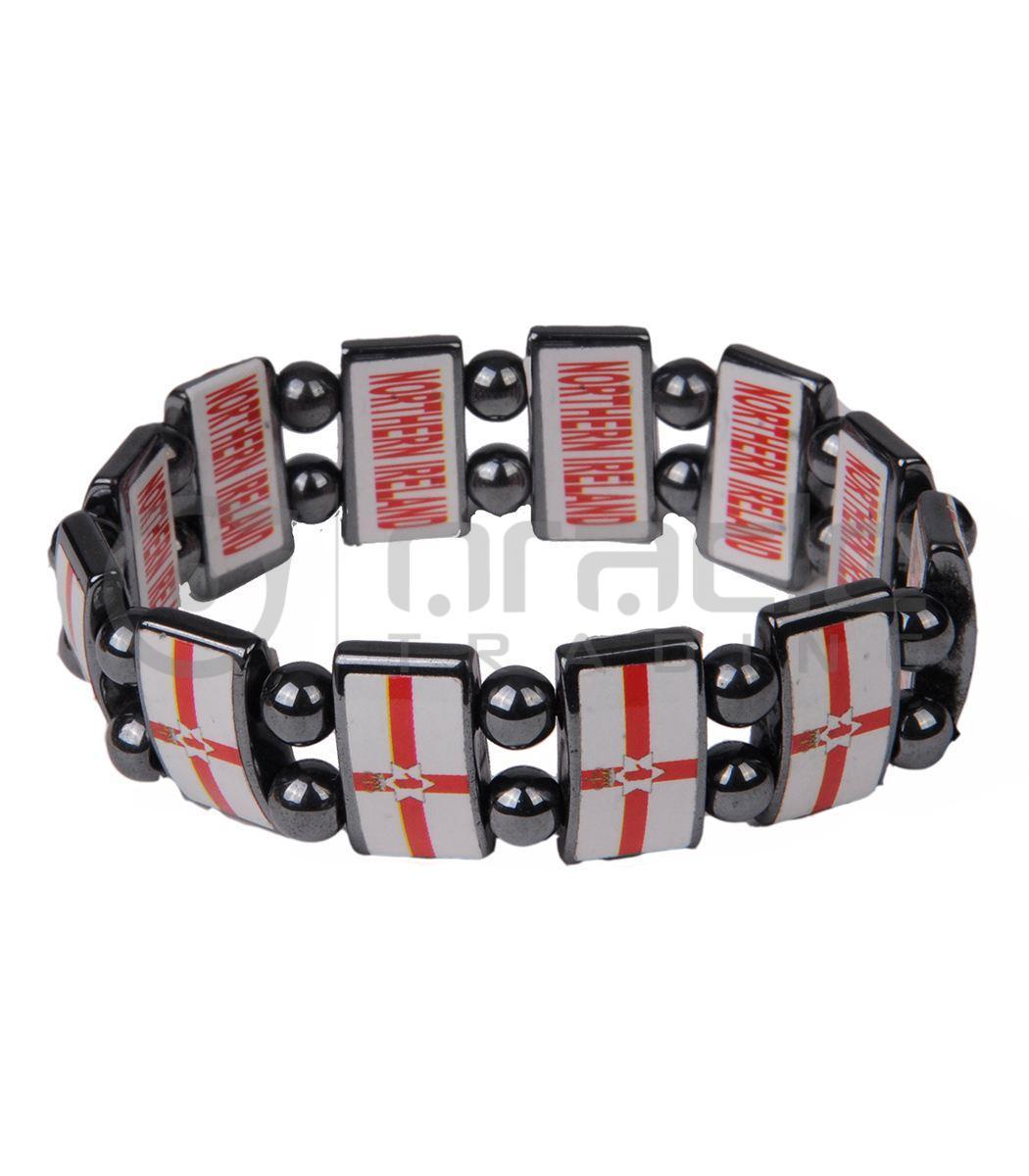 Northern Ireland Stone Bracelets 12-Pack