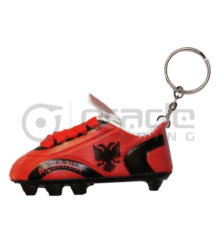 Albania Shoe Keychain 12-Pack