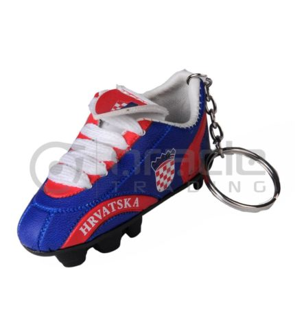 Croatia Shoe Keychain 12-Pack