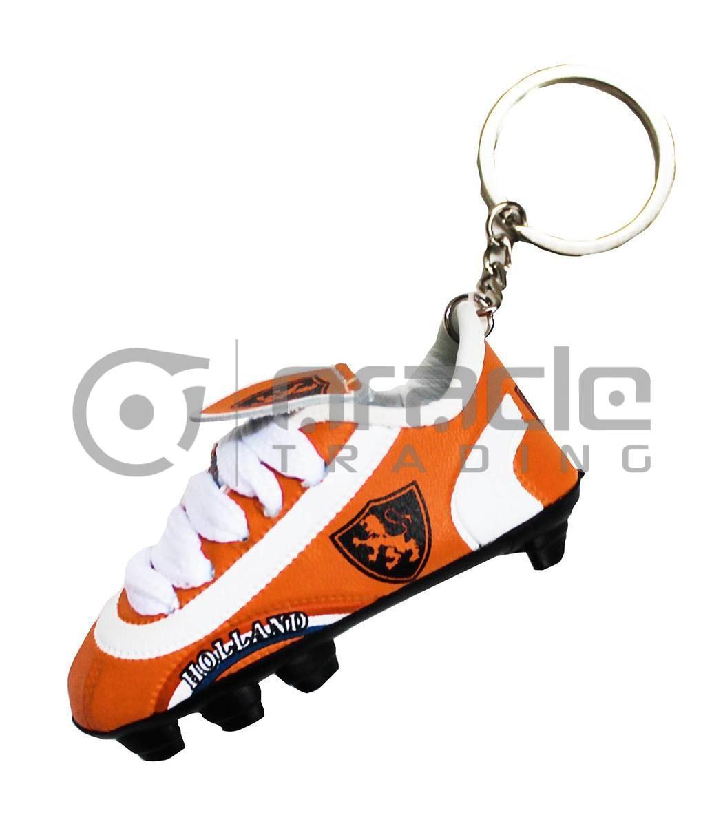 Holland Shoe Keychain 12-Pack - Orange