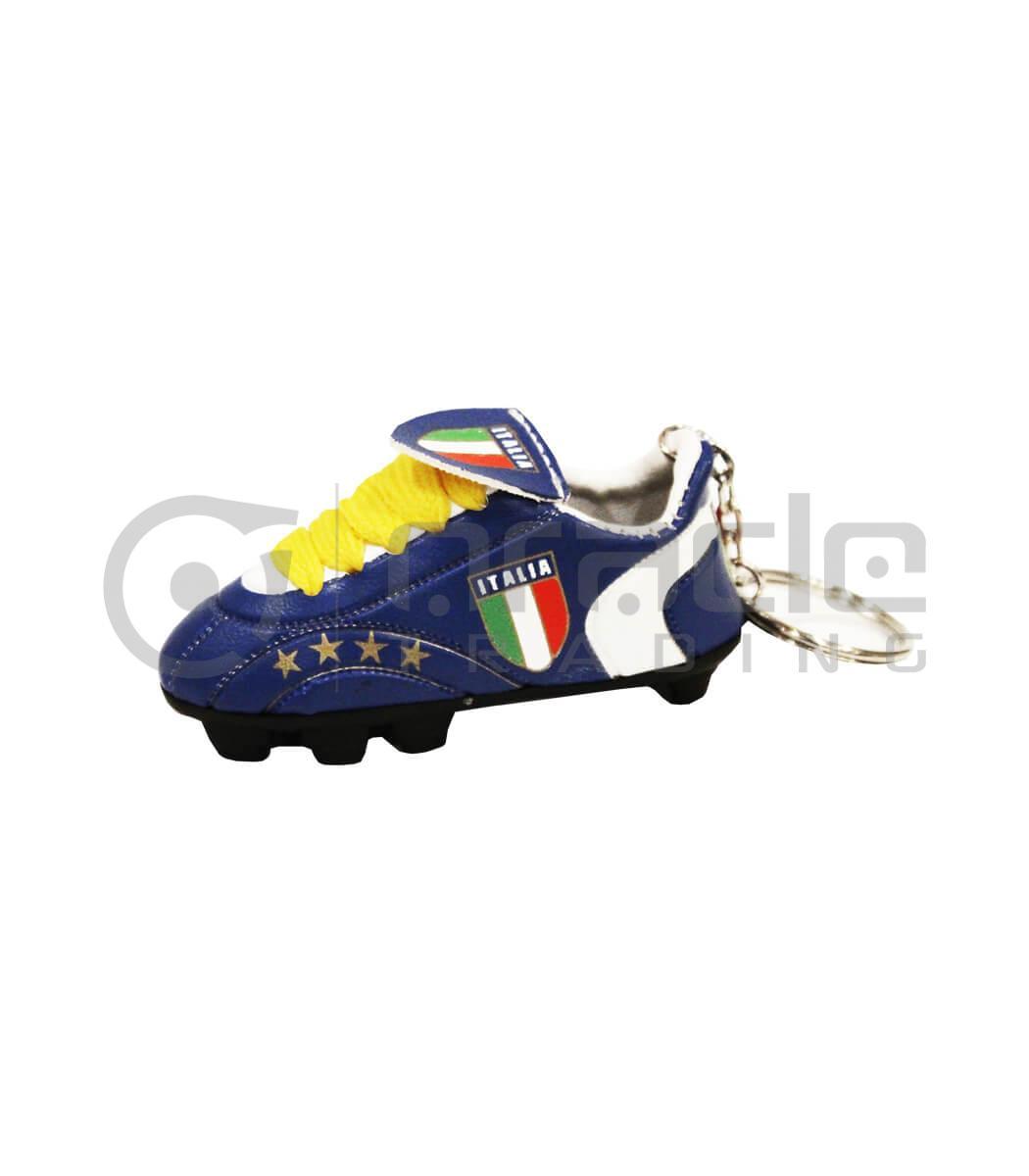 Italia Shoe Keychain 12-Pack (Blue)
