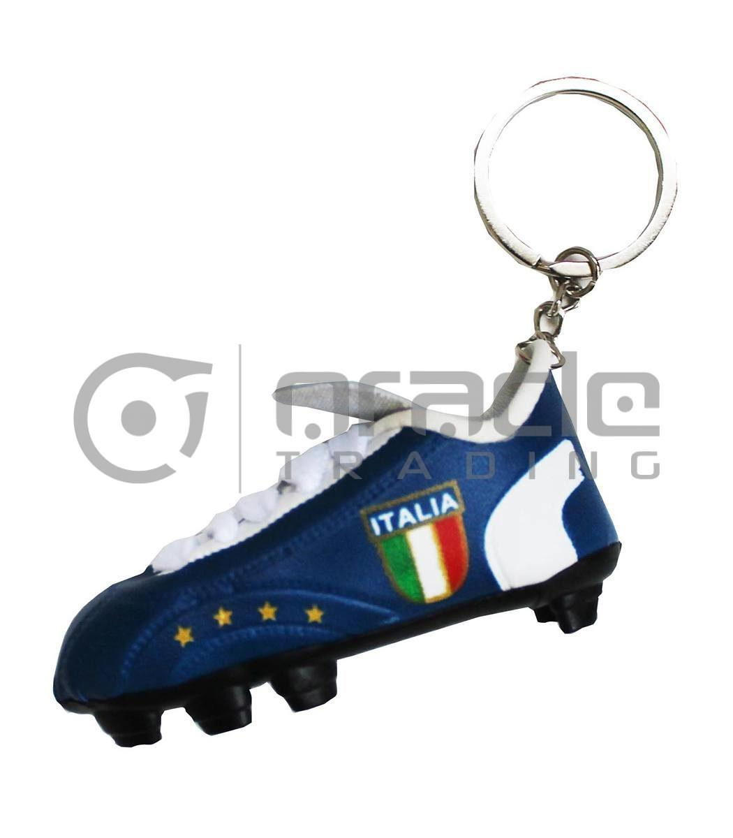 Italia Shoe Keychain 12-Pack (Blue)