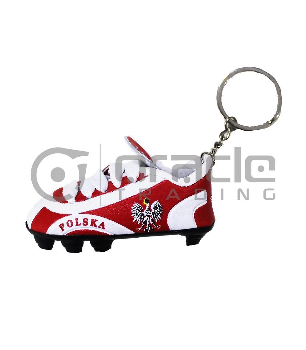 Poland Shoe Keychain 12-Pack