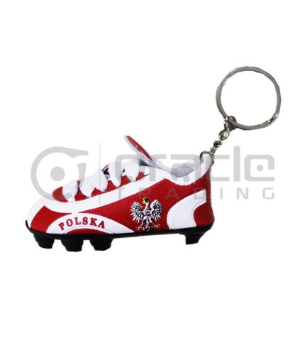 Poland Shoe Keychain 12-Pack