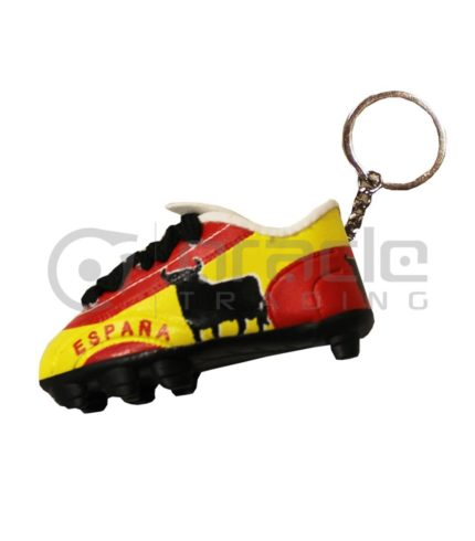 Spain Shoe Keychain 12-Pack