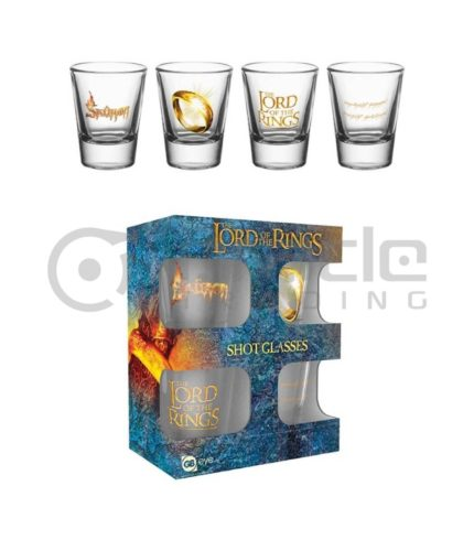 Lord of the Rings Shot Glass Set (4-Pack)