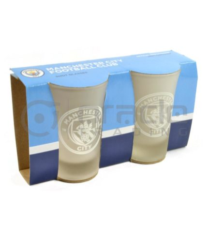 Manchester City Shot Glass Set