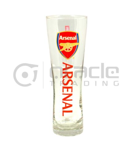 Arsenal Slim Pint Glass