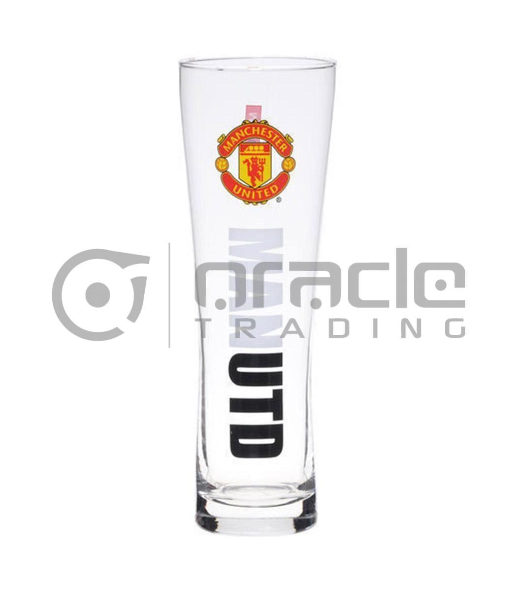 Manchester United Slim Pint Glass