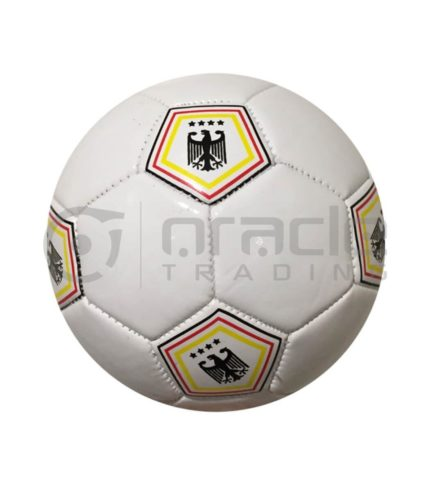 Germany Small Soccer Ball - White