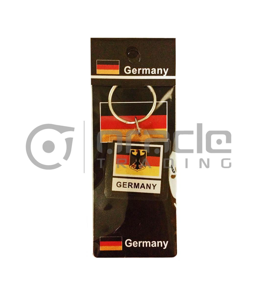 Germany Square Keychain 12-Pack