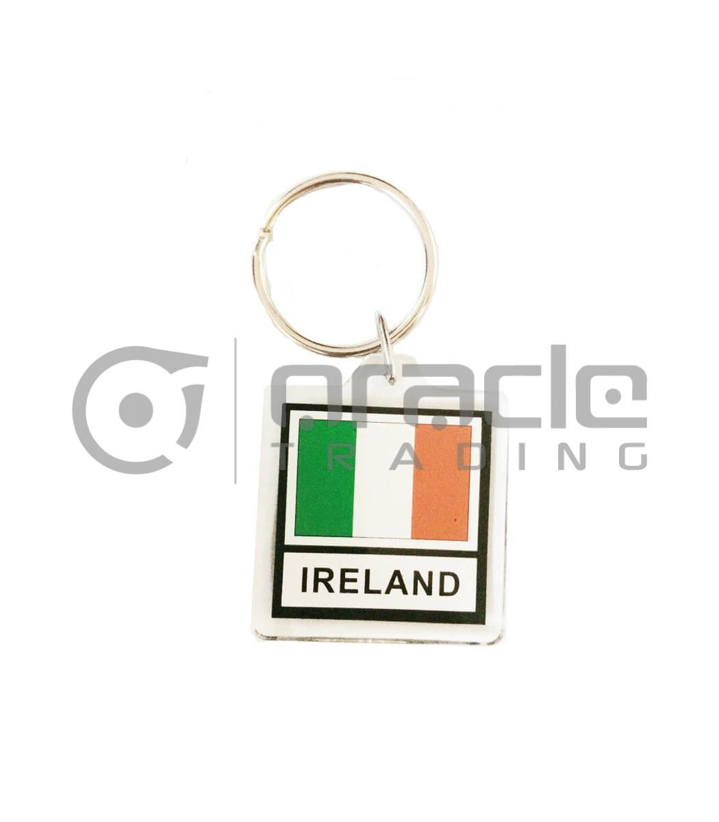 Ireland Square Keychain 12-Pack