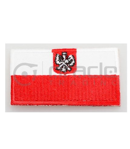 Poland Square Iron-on Patch