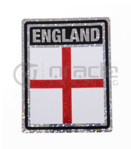 England Square Bumper Sticker