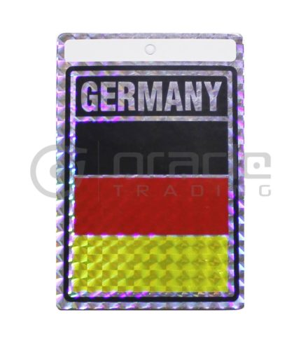 Germany Square Bumper Sticker