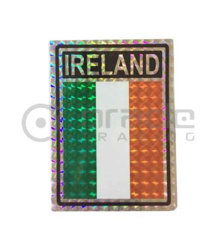 Ireland Square Bumper Sticker
