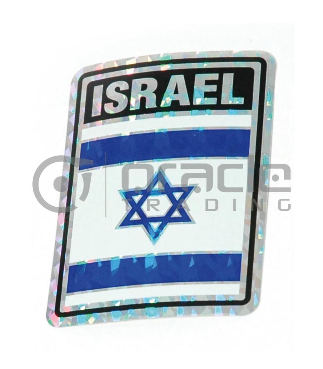 Israel Square Bumper Sticker