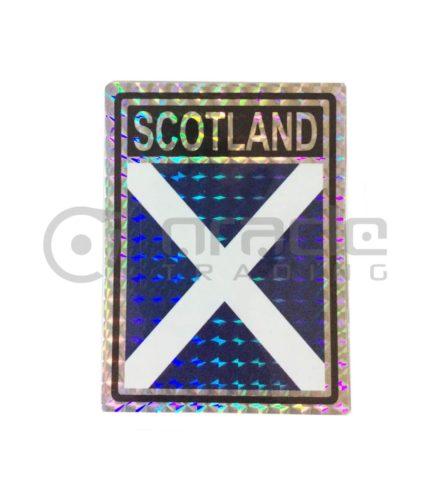 Scotland Square Bumper Sticker (St. Andrew's Cross)