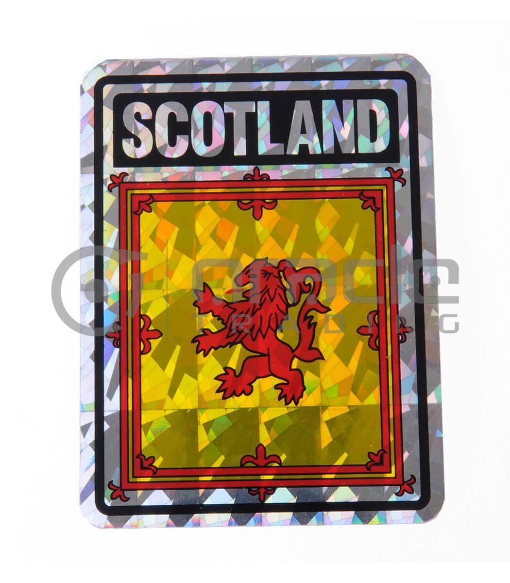 Scotland Square Bumper Sticker (Rampant Lion)