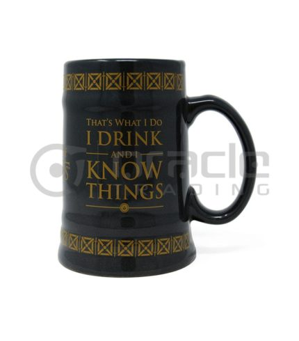 Game of Thrones Drink & Know Things Stein