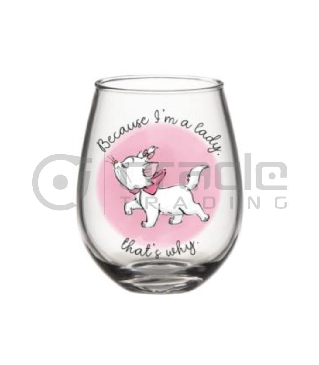 Aristocats Stemless Glass