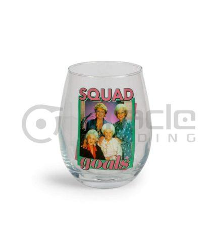 Golden Girls Stemless Glass - Squad Goals