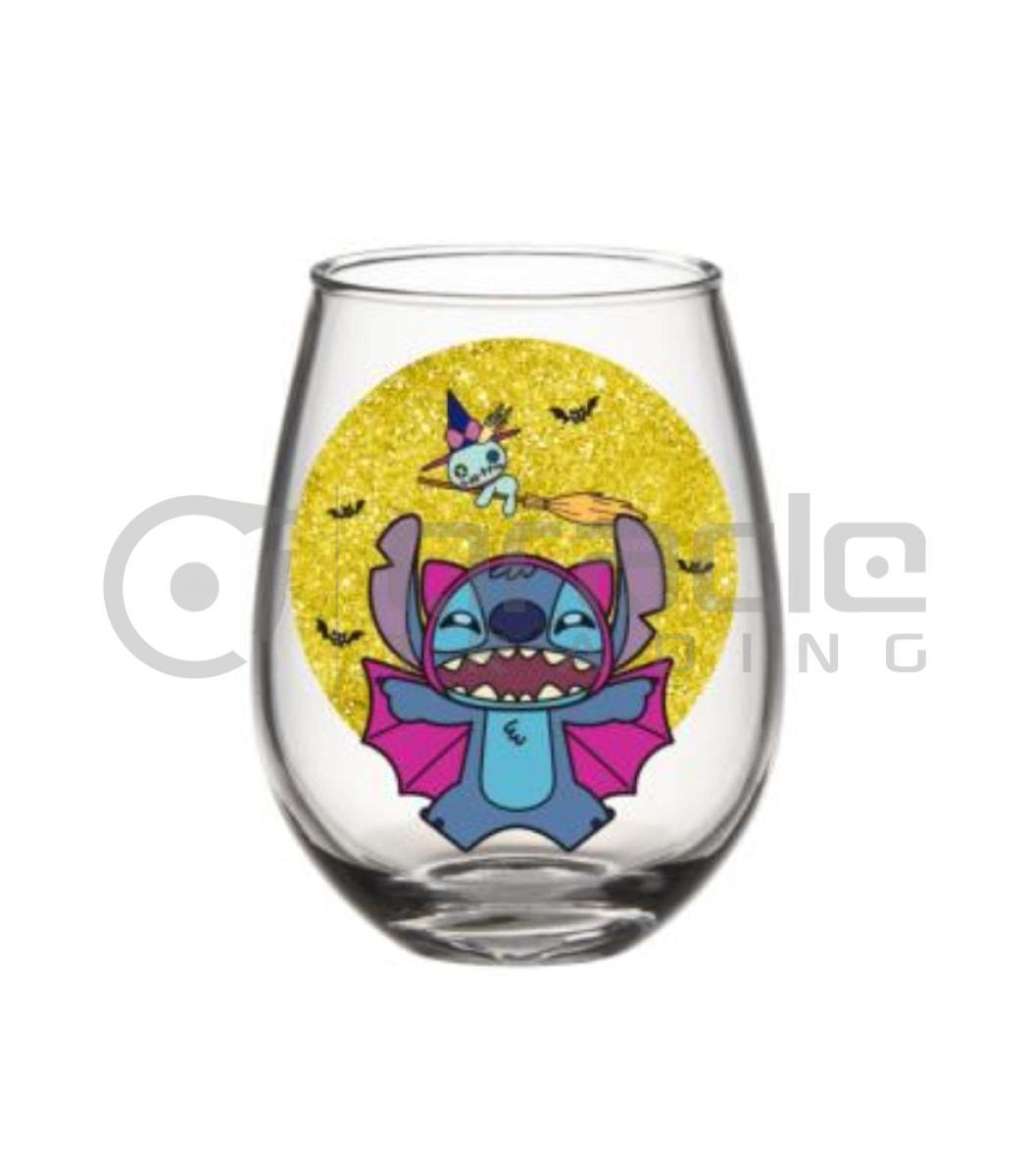 Lilo & Stitch Stemless Glass - Halloween