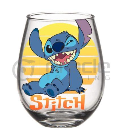 Lilo & Stitch Stemless Glass - Stitch Sunset